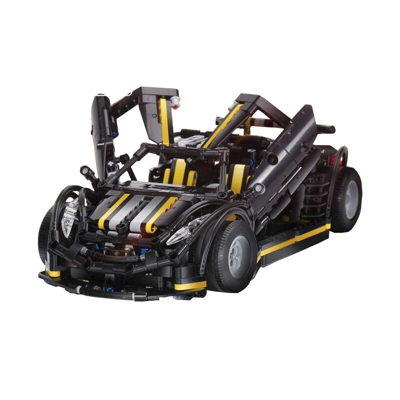 1177Pcs Nieuwe MOC Serie Balisong Sport Auto Model Building Kits Set Educatief Blokken Model Auto Speelgoed Kinderen Gift - 3