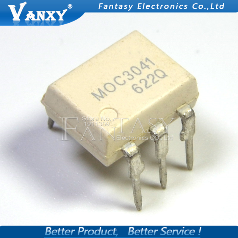 10PCS MOC3041 DIP6 DIP 3041 DIP-6 New And  Original IC