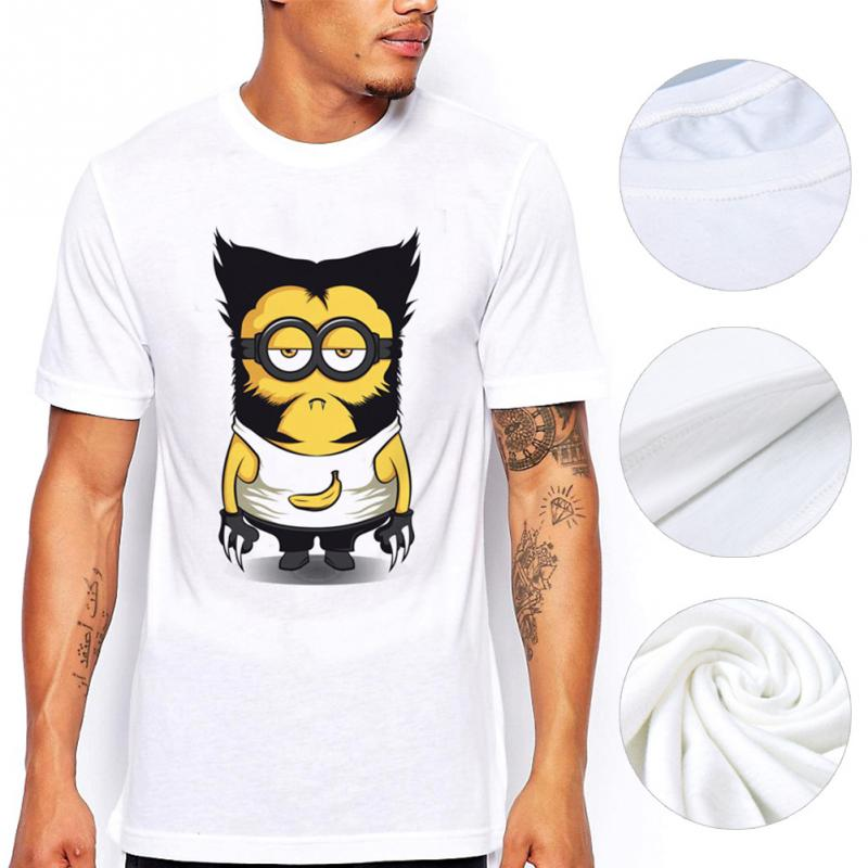 alisister cartoon despicable me minion t shirt printed. Black Bedroom Furniture Sets. Home Design Ideas