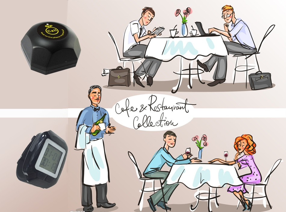 wireless waiter call system