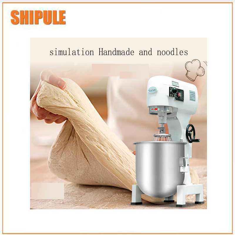 10L Flour mixer noodle make machine egg beater cake mixer commercial automatic dough mixer multifunction milk machine