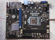 H61 DDR3 материнская плата используется оригинальный для MSI H61M-S26 V2 H61 DDR3 Для Настольных Пк бесплатная доставка