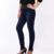 Grande plus size mulheres calça jeans de cor azul e preto L-5XL calças jeans outono inverno desgaste de corpo inteiro moda marca jean calças