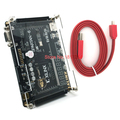 Tarjeta de desarrollo fpga xilinx Xilinx spartan6 XC6SLX9 con 256 Mb SDRAM FLASH EEPROM tarjeta SD Cámara VGA