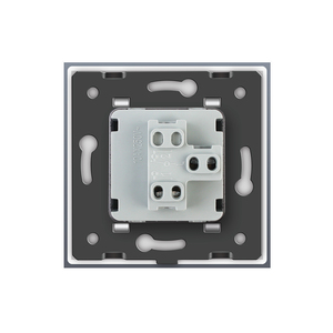 Image 5 - Livolo Manufacturer EU standard Luxury 4 colors crystal glass panel,1way Push Reset switch,restore switches,no logo