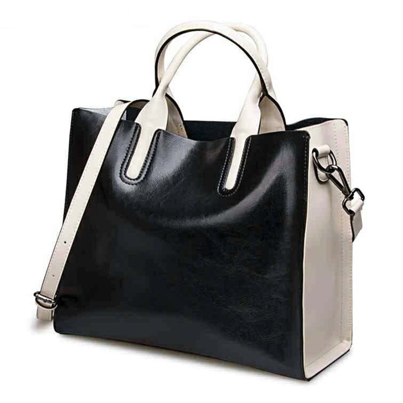 Hot selling genuine leather women's handbag Cowhide one shoulder bag women messenger bag designer famous brands top-handle bags marc jacobs футболка