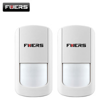 2pcs/lot 433Mhz Wireless PIR Sensor Motion Detector For Wireless Wifi Home Security Alarm Systems G90B battery include