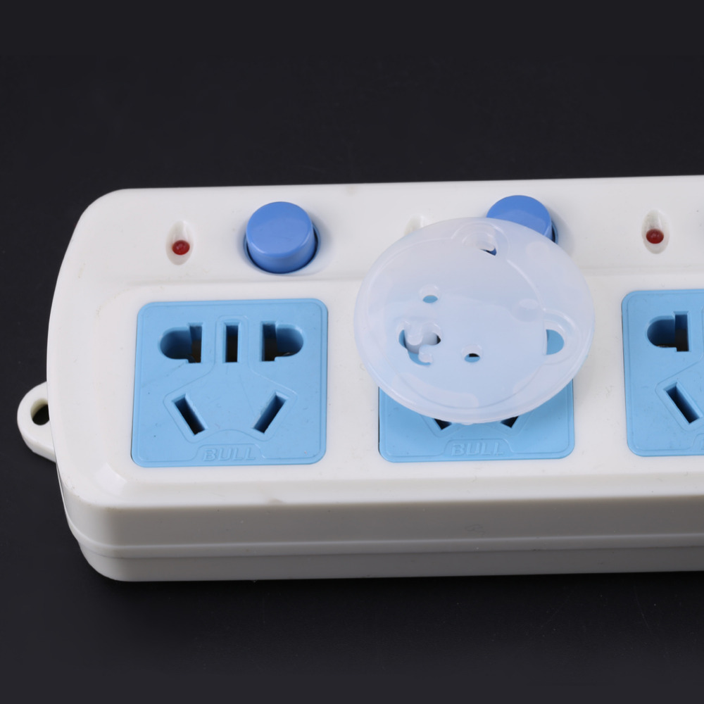20 Piece Safety Electric Outlet Plug Protector Cover Child Proof Shock Guard