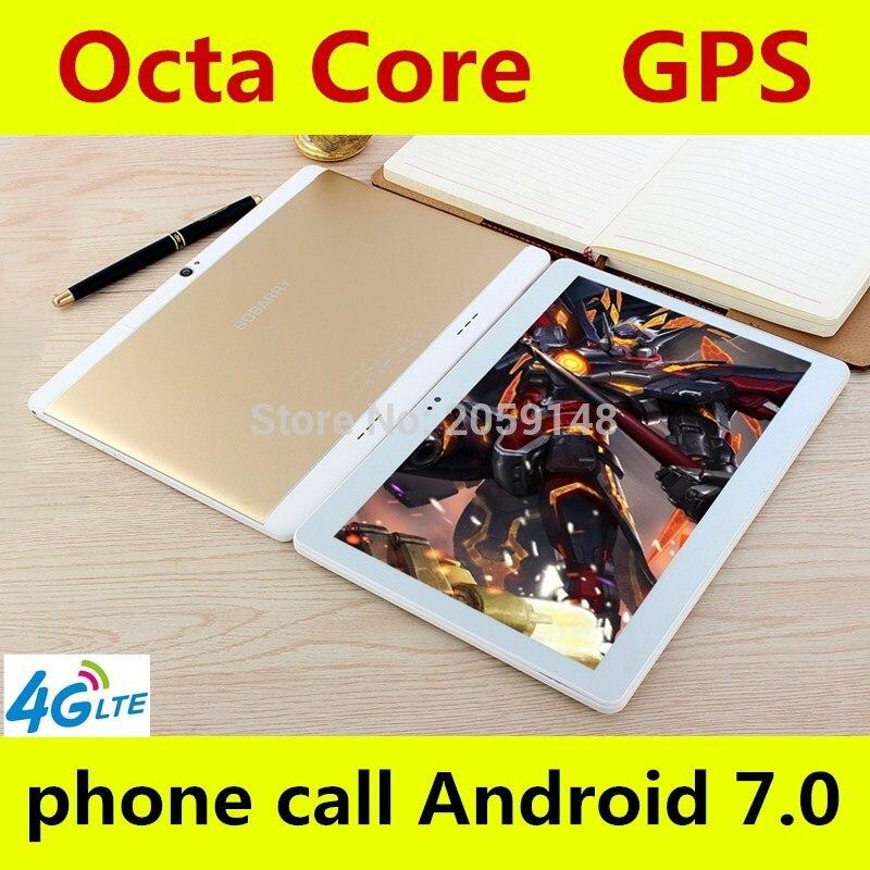 11.11 Comprimés Android 7.0 Octa base 128 gb ROM Double Caméra et Double SIM Tablet PC Soutien OTG WIFI GPS 4g LTE bluetooth téléphone