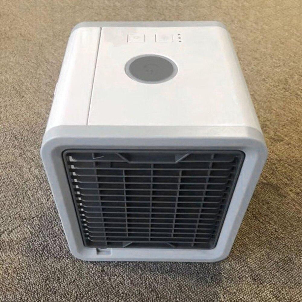 Refrigerador de aire de verano nuevo Mini acondicionador de aire multifunción ventilador con 7 colores LED humidificador de aire purificador inicio