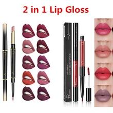 Hot Pudaier 2 In 1 Lip Gloss Lip Tint Wa