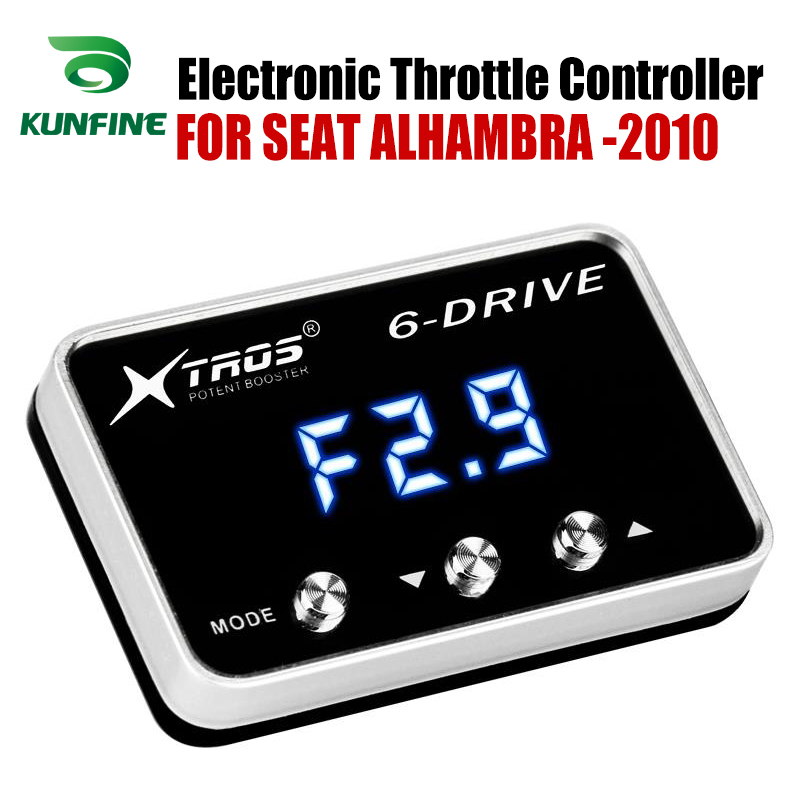 Car Electronic Throttle Controller Racing Accelerator Potent Booster For SEAT ALHAMBRA 2010 forwards ALL PETROL ENGINES TuningCar Electronic Throttle Controller Racing Accelerator Potent Booster For SEAT ALHAMBRA 2010 forwards ALL PETROL ENGINES Tuning