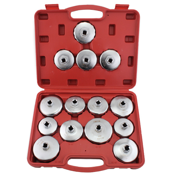 Engine Care 7pcs Oil Filter Cap Socket Wrench Tool Set For Benz Bmw Ford 24mm 27mm 29mm 30mm 32mm 36mm 38mm A Great Variety Of Models Car Wash & Maintenance
