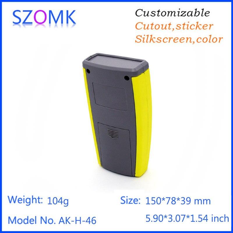 4 pcs 150 78 39mm 2x AA battery plastic box for electronics enclosure housing szomk hot