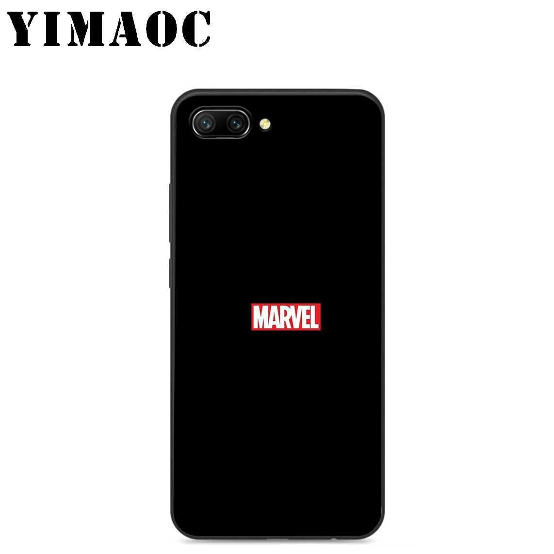 YIMAOC マーベルスーパーヒーローソフトシリコンケース Huawei 社の名誉メイト 10 P20 P10 P9 P8 1080p スマート Y6 6A 7A 7X 7C Lite プロ 2017 2018