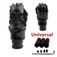 Universal ABS Skull Head Car Gear Shifter Knob Skull Shifter Lever Fit For Manual Transmission