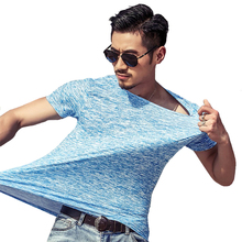 цена GUMPRUN Hip Hop T-Shirts Men Casual Short Sleeve T-Shirt O Neck Cotton Mens t shirt Man Tops Tees men luxury brand clothes в интернет-магазинах