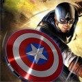 Capitão América Vingadores Capitão América Escudo Banco Do Poder 6800 MAH Powerbank Carregador de Banco de Energia Móvel banco do poder Dos Desenhos Animados