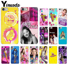 цена на Yinuoda Soy Luna  Pattern TPU Soft Phone Accessories Cell Phone Case for iPhone 6S 6plus X Xs MAX  7 7plus 8 8Plus 5 5S XR