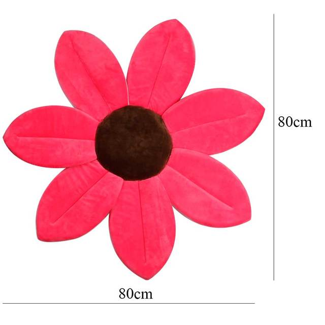Baby Flower Shower Bath Mat Anti-slip Sponge