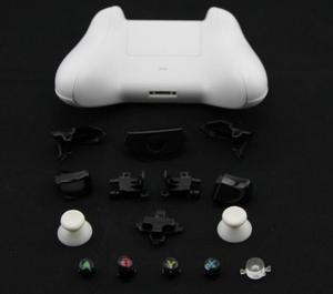 Image 3 - ゲームアクセサリーのためのxbox oneワイヤレスコントローラフルハウジングの交換シェルやボタンケース硬質表面