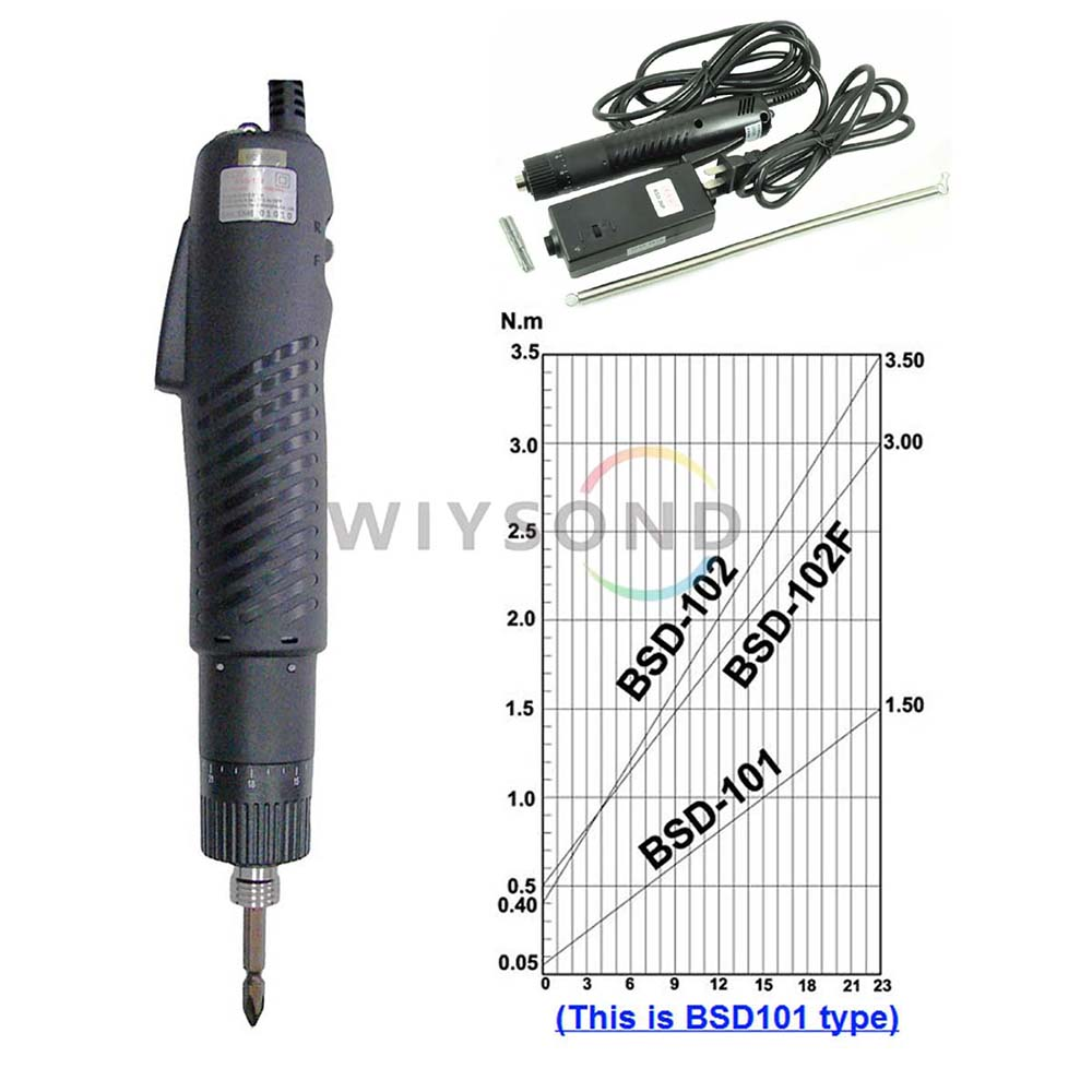 цена на TL008 36v 15.3kgf.cm torque electric screwdriver Screwdriver Power Tools Screw Driver kit Power Supply & 2 plug