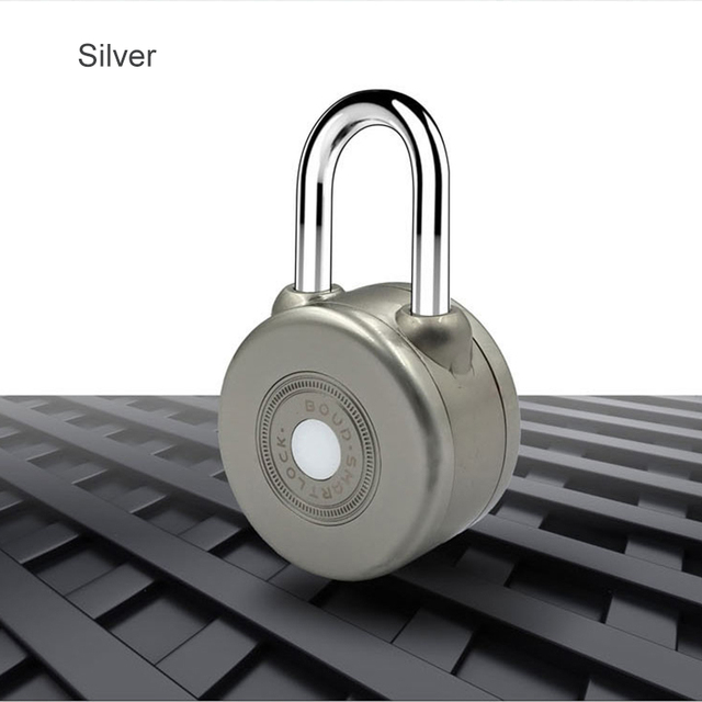 Smart Bluetooth Padlock Electronic Wireless Lock Keyless APP Control Bluetooth Password Shareing for Bike Motorcycle Home Door