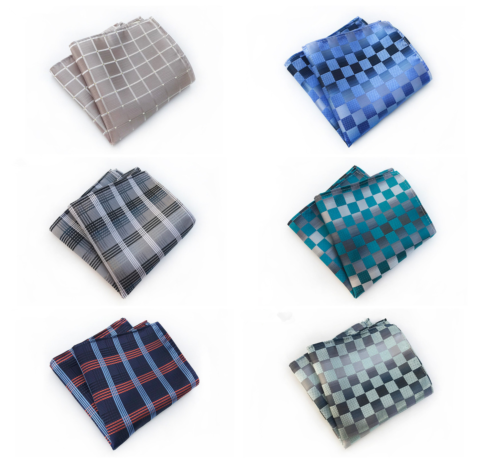 2019 Fashion Quality Explosion Flower Men's Pocket Towel Simple Personality Business Men's Quality Accessories Handkerchief