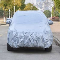 Universal Fit Car Covers for SUV Waterproof Dustproof Outdoor Car Covers Protection Vehicle Cover