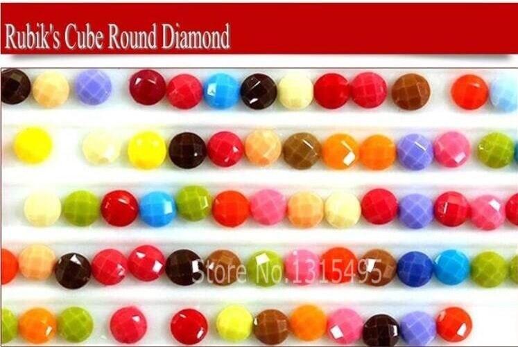 5D Рубикс Алмаз Алмаз кескіндеме толық - Өнер, қолөнер және тігін - фото 2