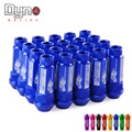 DYNO New Product auto RYANSTAR wheel lug nuts High Quantity Length 70MM  12*1.5 aluminum 20pcs lug nuts