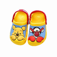 WENDYWU 2016 most cartoon 3D pattern baby Clog garden shoe for children sandals slippers boys and girls sandals free shipping