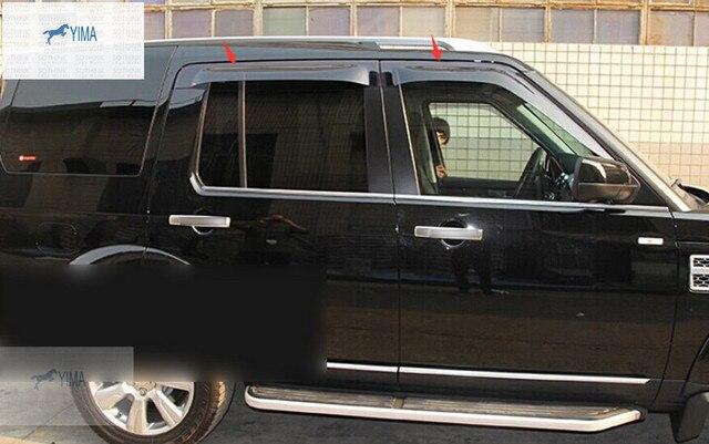 Exterior/ For Land Rover Discovery 4 2014 Window Visors Awnings Wind Rain Shield Deflector Visor Guard Vent 4 pcs / set