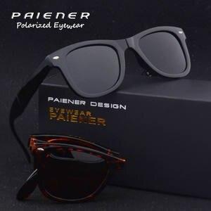 6af36d58a8d PAIENER Sun glasses vintage Polarized sunglasses women