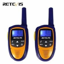 Мини детей Портативная рация дети Радио Retevis RT31 0.5 Вт PMR446 частота Портативный VOX удобный ham Радио КВ трансивер