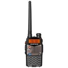 Baofeng UV 5RA иди и болтай Walkie Talkie S сканер радио УКВ 136 174 UHF 400 520 с двухдиапазонной СВ Ham радио приемопередатчик