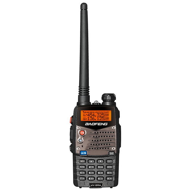 Baofeng UV 5RA Walkie Talkies Scanner Radio VHF UHF Dual Band Cb Ham Radio Transceiver 136 174 400 470 5W baofeng UV 5RA