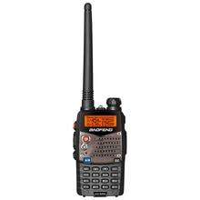 Baofeng Walkie Talkies UV 5RA, escáner de Radio VHF 136 174 UHF 400 520, transceptor de Radio de banda Dual CB Ham