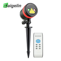 Waterproof LED Laser Lights RF Remote Laser Christmas Lights For Outdoor Garden Wedding Party Decoration Lighting