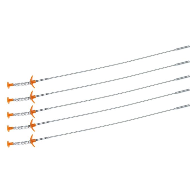 Гибкий удлиненный инструмент для фиксации узкого изгиба, пружинный захват 60 см