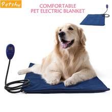Petshy Dog Bed Winter Warm Comfortable Heating Pad Mat For Cat Machine Washable Non-slip Detachable Cover Pet House Cushion