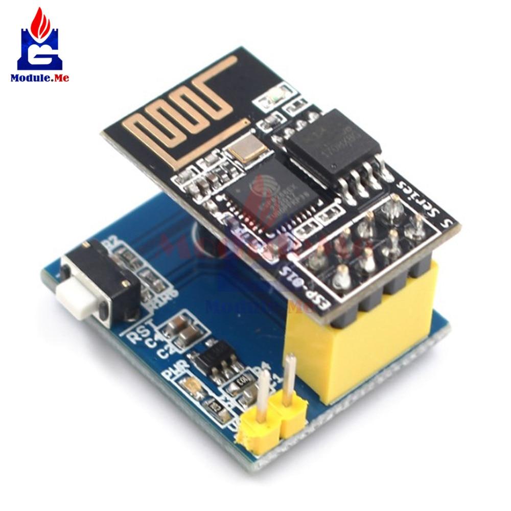 ᐂESP8266 ESP01S ESP-01S DS18B20 Temperature Humidity Sensor