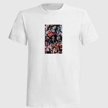 Xxxtentacion T Shirt Men Hip Hop T-shirt  Anime Puerto Rico Shirts Drake Funny My Hero Academia Joji guitar