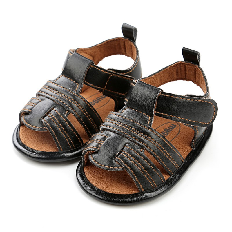 Summer Baby Boys First Walkers Baby Beach Shoes Breathable Soft Sole Bottom Shoes Walking Crib Shoes 2018 new