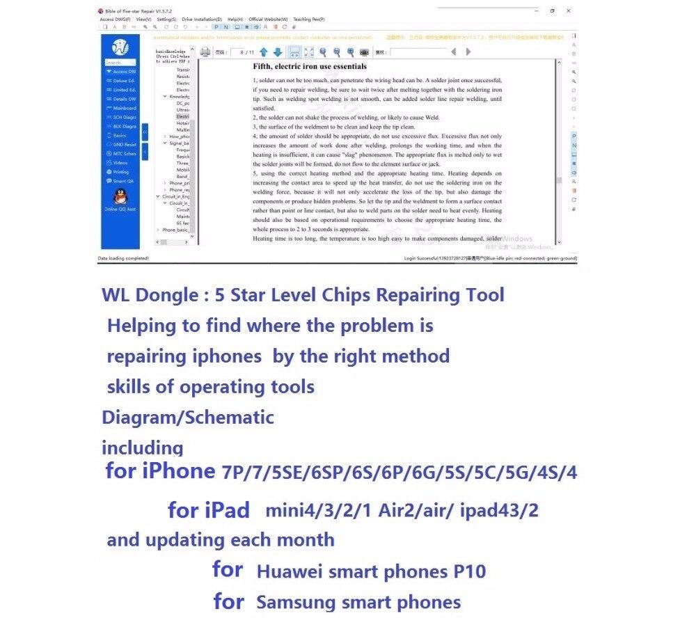 Original Wu Xin Ji Wl Wxj Dongle Board Schematic Diagram For Iphone 5 Rf Block Ipad Samsung Phonesupplement Zxw In Connectors From Lights Lighting On