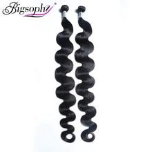 Malaysian hair body weave bundle virgin hair  extensions 100% human hair bundle 32 38 40 inch  bundles 1/2/3/4 Bundles Bigsophy