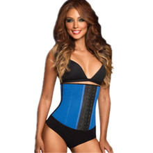 2015New Fashion Woman Sexy Waist Trainer Body Shaper Latex Waist Cincher Waist Corsets