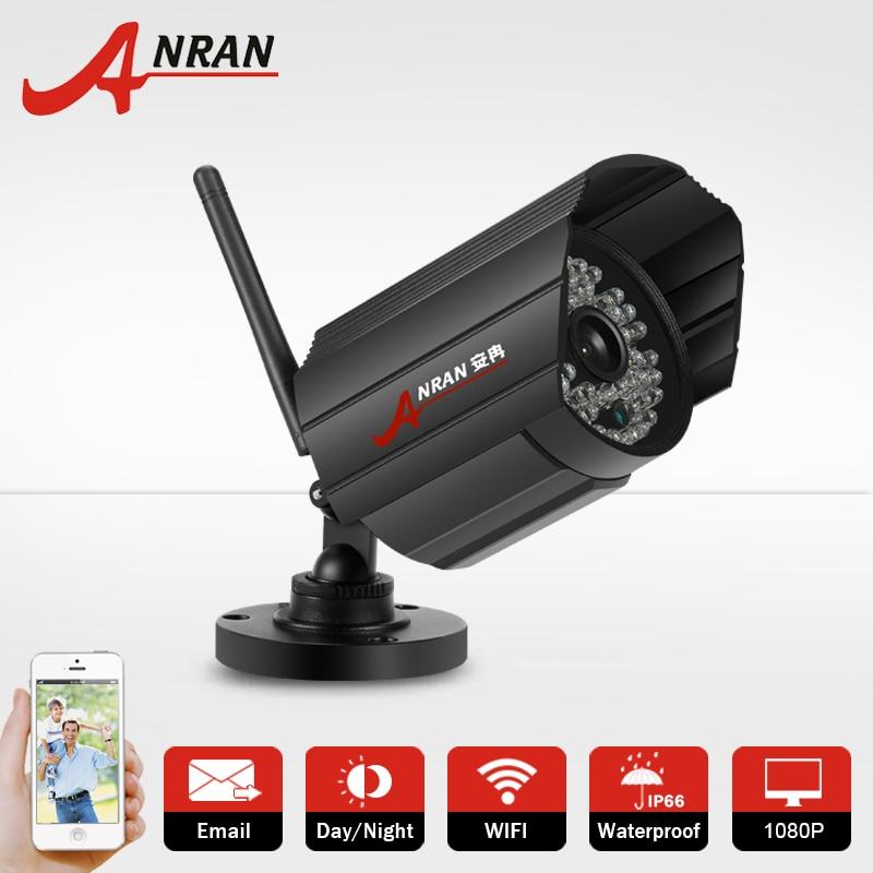 ФОТО ANRAN 2.0Megapixel 1080P Full HD 48IR Infrared Onvif H.264 25fps D/N CMOS Sensor Outdoor CCTV Camera Home Security IP Camera