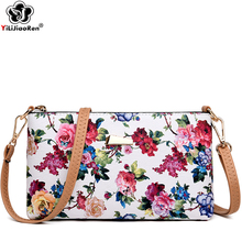 Fashion Rose Pattern Shoulder Bag Female Famous Brand Leather Crossbody Bags for Women Luxury Evening Clutch Bags Sac A Main цена в Москве и Питере