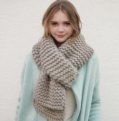 2016 grof wol handgemaakte sjaals gebreide sjaal vrouwen mode pure